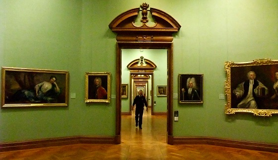 Dublin National Gallery interior