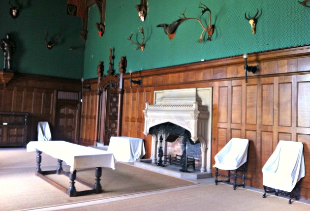 Nottingham Newstead Abbey Hall