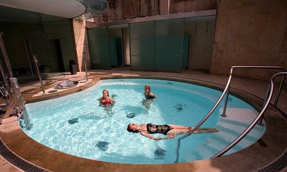Bath Thermae Cross Pool Matt Cardy