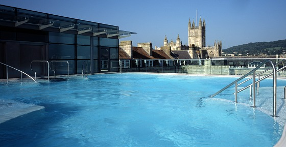 Bath Thermae Pool by Edmund Sumner