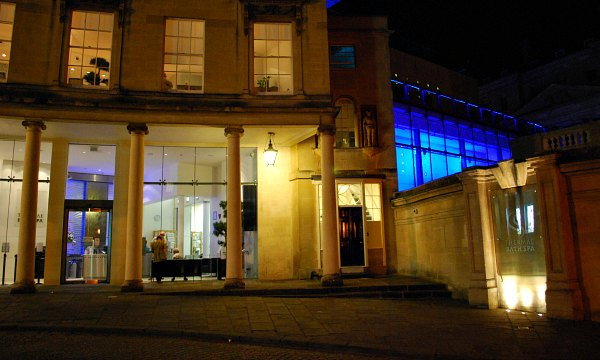 Thermae Bath Spa exterior