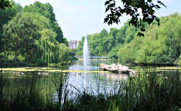 London St James's Park Fountain