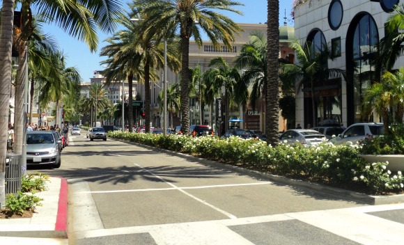 Los Angeles Beverly Hills Rodeo Drive