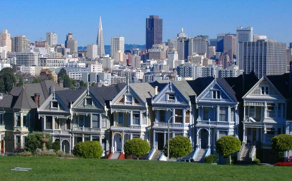 San Francisco pacific heights houses