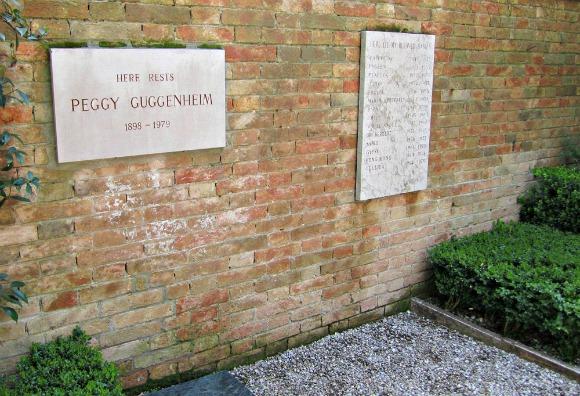 Venice Guggenheim Grave