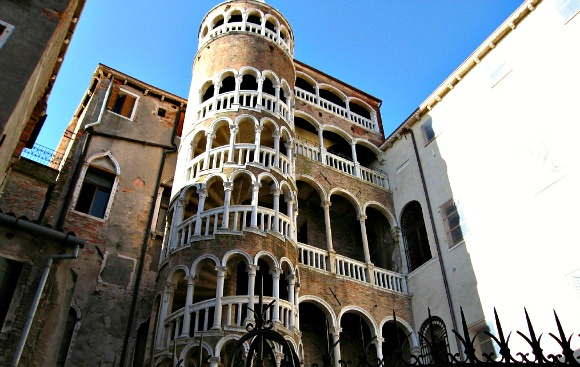 Venice Spiral Staircase Scala Contarni