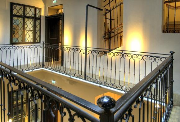 Vienna Mozarthaus staircase