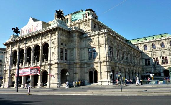 Vienna State Opera front