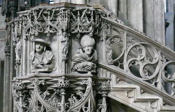 Vienna Stephansdom pulpit