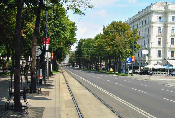 Vienna ring boulevard wide