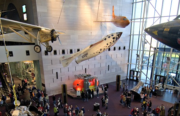 Washington Smithsonian Air and Space Mark Avino