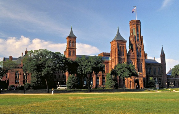 Washington Smithsonian castle