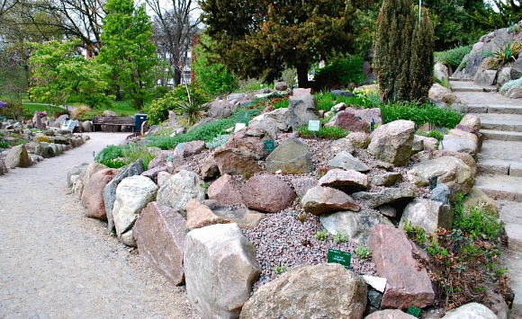 Copenhagen Botanical Gardens Rocks (www.free-city-guides.com)