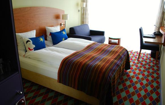 Copenhagen Tivoli Hotel Room