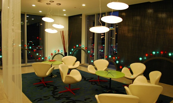 Copenhagen Tivoli Hotel seating area