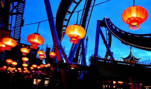 Copenhagen Tivoli Lanterns (www.free-city-guides.com)