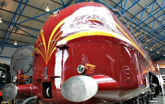 York National Railway Museum Duchess of  Hamilton (www.free-city-guides.com)