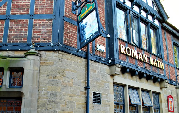 York Roman Bath pub exterior (www.free-city-guides.com)