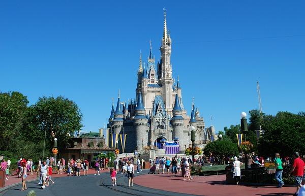 Orlando Disney Castle