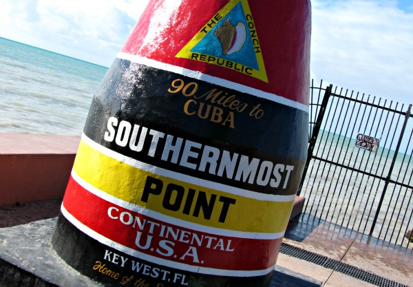 Key West Southernmost Point Beacon
