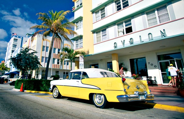 Miami South Beach Art deco