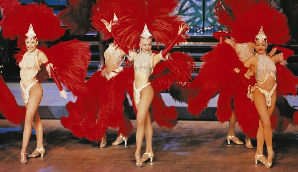 Moulin Rouge feathers
