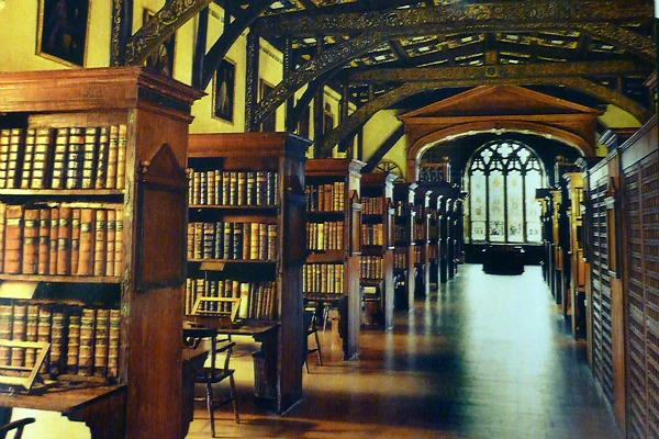 Oxford Bodleian Harry Potter library