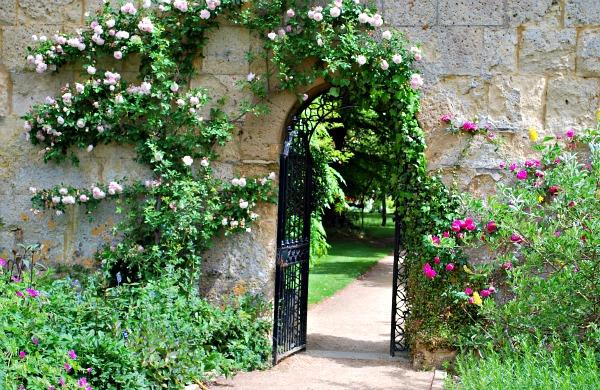 Oxford Botanic Gardens Gate (www.free-city-guides.com)