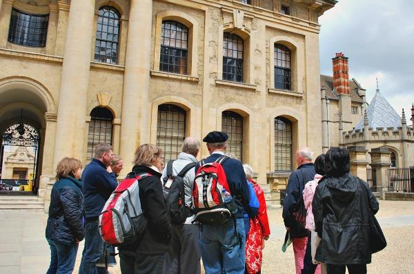 Oxford Walking Tour Bodleian (www.free-city-guides.com)