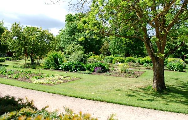 Oxford Botanical Gardens Borders (www.free-city-guides.com)