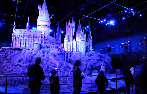 London Harry Potter Hogwarts Model