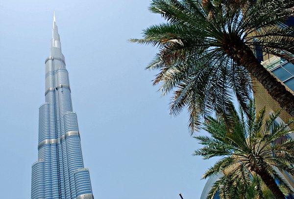 Dubai Burj Khalifa Exterior Daytime