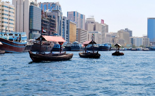 Dubai Creek Empty Abras
