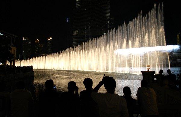 Dubai Fountain Crowd