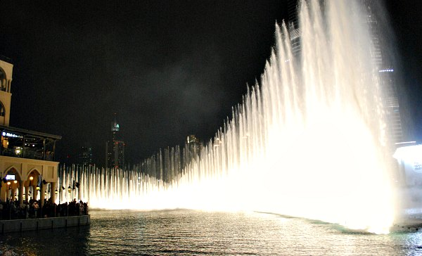 Dubai Fountain tall