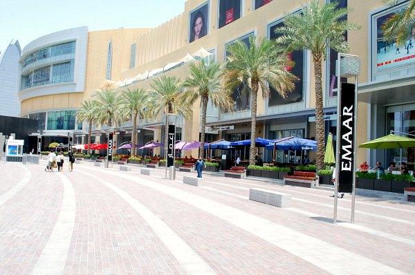 Dubai Mall Exterior