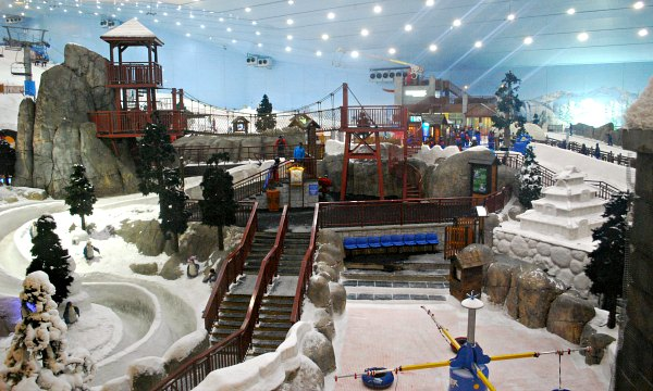 Dubai Mall Of The Emirates Ski Slope