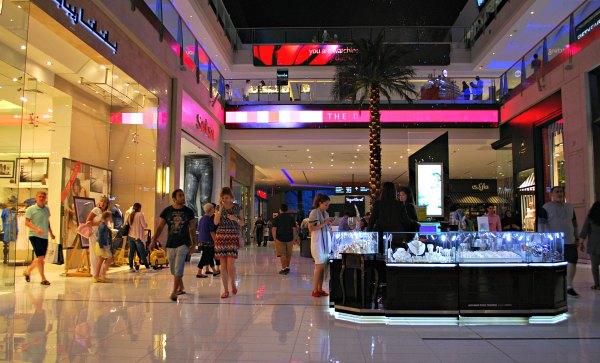 Dubai Mall Shops