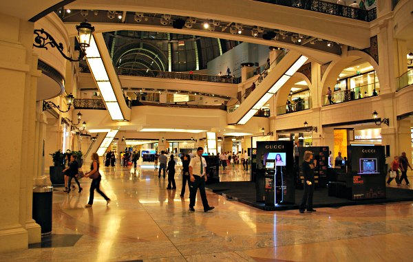 Dubai Mall of The Emirates shops