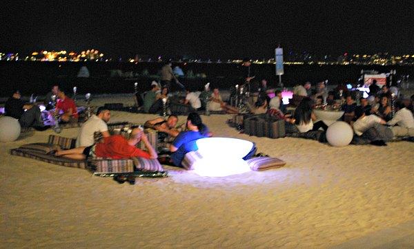 Dubai Marina Beach Shisha