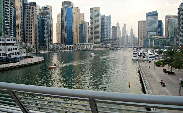 Dubai Marina Daytime