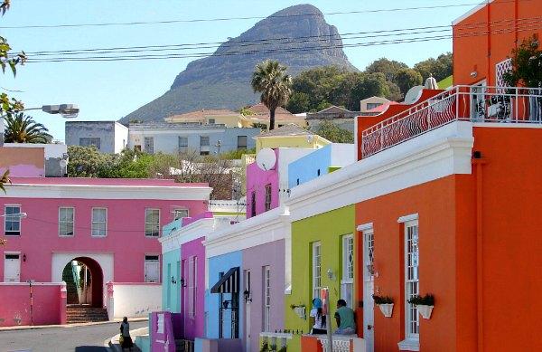 Cape Town Bo Kaap Signal Hill