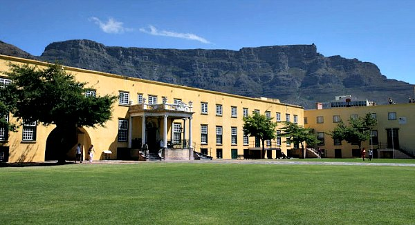 Cape Town Castle of Good Hope inside