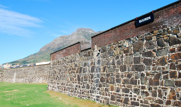Cape Town Castle of Good Hope wall