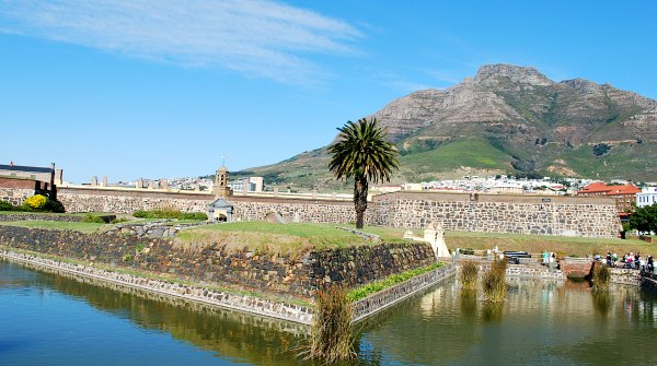 Cape Town Castle of Good Hope wide