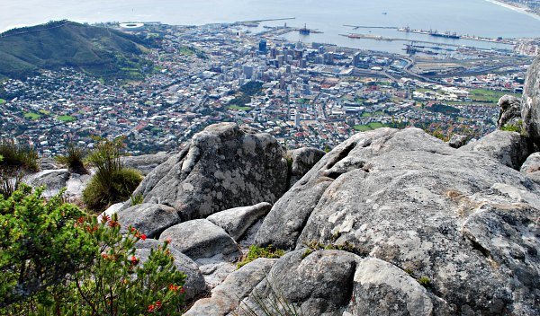 Cape Town Table Mountain Rocks