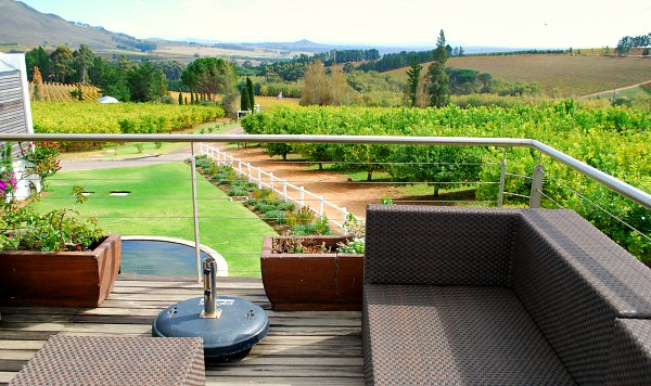 Cape Town Wine Tours seating