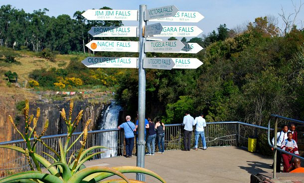 Howick Falls Sign
