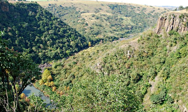 Howick Falls view