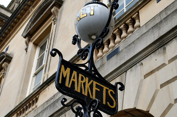 Bath Guildhall Market Sign